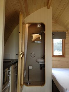 Wet room definitely glamping!