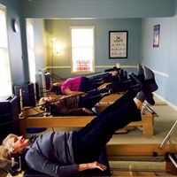 Thursday morning Fit for Life Pilates class.