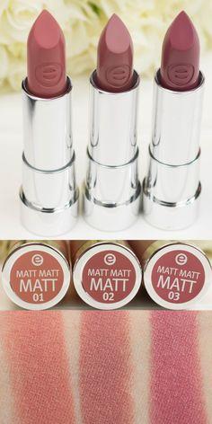 essence matt matt matt lipstick swatches targebilder review lippenstift drogerie mrsfarbulous swatches 6