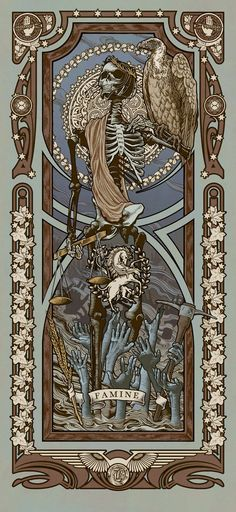 Swooned by the Fullest of Moons — ex0skeletal: Reapers of the Apocalypse by Ryan...
