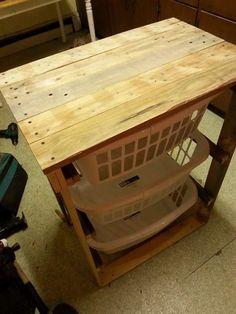 http://www.bkgfactory.com/category/Laundry-Basket/ low-cost wooden pallet laundry basket holder