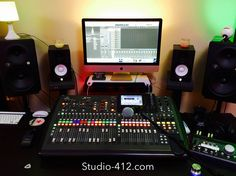 Recording Studio, Music Production, Live Music, Behringer X-32