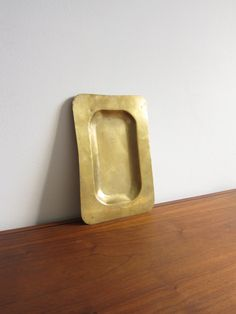 Vintage French Brass Tray by ModernSquirrel on Etsy, $25.00