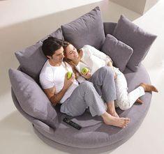 Home Design Ideas ? Home Design Decorating ? Home Furniture Home Design Ideas - Home Design Decorating - Home Furniture Cuddle Couch, Sofa Couch, Grey Loveseat, Couches, Cozy Chair, Comfy Sofa, Round Sofa Chair, Comfy Reading Chair, Dining Chair