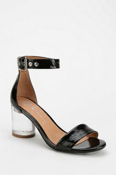 Love the lucite heel