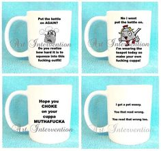 Funny Adult Mugs  Put The Kettle on by CreativeIntervention