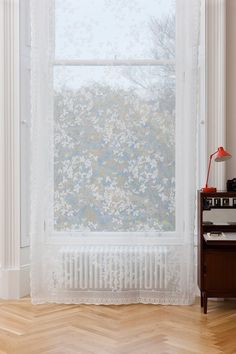 Premium Lace Panels: The Honeybee Victorian Window Treatments, Victorian Windows, Window Panels, Window Coverings, Damask Curtains, Lace Window, Classic Window, Victorian Wallpaper, Craftsman Furniture