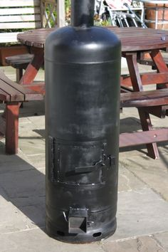 Picture of Gas Bottle Wood Burner