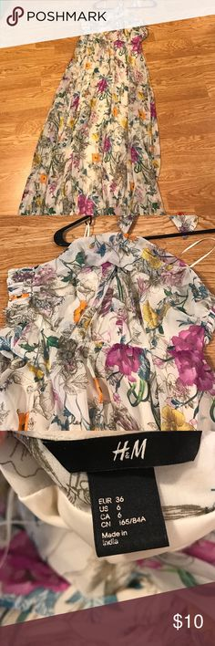 Selling this H & M floral dress on Poshmark! My username is: brittanyperez24. #shopmycloset #poshmark #fashion #shopping #style #forsale #Dresses & Skirts