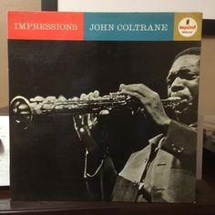 John Coltrane - Impressions; 1963; Impulse! A-42  #nowplaying #nowspinning #instavinyl #vinyl #vinylpost #vinyljunkie #vinylcollector #vinylcollection #vinylcommunity #vinyligclub #vinyladdict #records #recordaday #recordcollection #recordcollector #jazz #jazzvinyl #jazzrecord #johncoltrane #ericdolphy #jimmygarrison #reggieworkman #elvinjones #royhaynes #mccoytyner #impulse #impulserecords by record_a_day