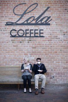 Coffee Shop Engagement Session Ellen + John | Engaged Photos by Cristi Owen Photography