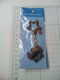 New Stitch Strap Charm Key Ring Tokyo Disney Resort Limited RARE Sale | eBay