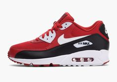 Red, Black And White Make Their Way On The Nike Air Max 90