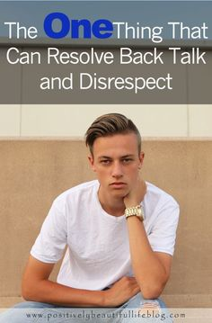 Tired of Disrespect and talk back? This ONE thing can resolve it all!