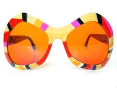 Mod 60's oversized sunglasses