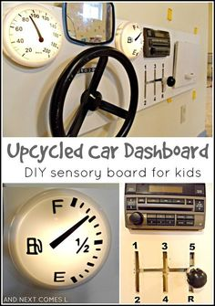 6 Unique Sensory Board Ideas for Toddlers - http://wp.me/p708gF-Hs - Very clever (and simple) ideas for creating a sensory board for your toddler boy or girl.  We also call them