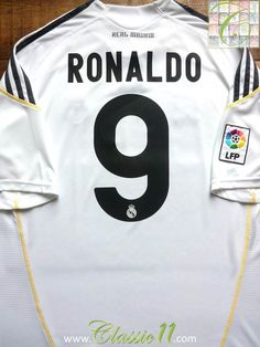 size 40 4b9f0 35e09 126 Best Classic Real Madrid Football Shirts images in 2019 ...