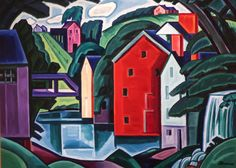 Motive in Space and Form, Oscar Bluemner (Paley Collection, MoMA)