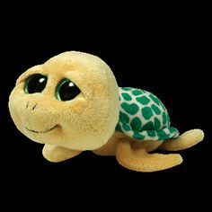 Yellow Turtle Small Plush by Ty Ty Beanie Boos Pokey