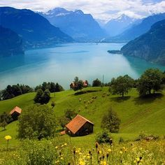 Lake Lucern, Switzerland