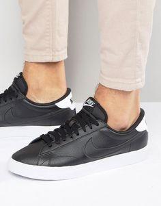 Nike | Nike Tennis Classic Ac Trainers In Black 377812-051 at ASOS