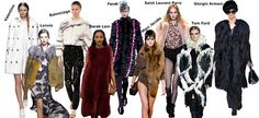 From total color to Crazy color fur. fell in love with fur collection for fall winter 2013