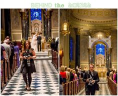 Bartlett Pair Photography Behind the Scenes Wedding Curtis Center Basilica of Saints Peter and Paul