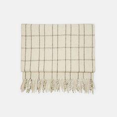 Mexchic — Wool Blanket Polanco Cream — THE LINE