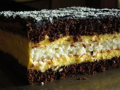 Ukrainian Recipes, Food Cakes, Something Sweet, Biscotti, Cake Recipes, Cheesecake, Food And Drink, Sweets, Chocolate