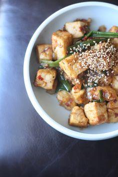 Week of Menus: Honey Soy Tofu Stir Fry: When your efforts are fruitful