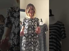 Lularoe Carly as a Wrap Dress! - YouTube
