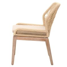 Loom Dining Chair Sand In 2019 Woven Dining Chairs