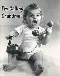 JUST. CALL. #GRANDMA!  Visit us at