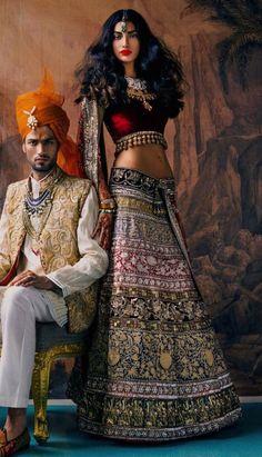 Manish malhotra featured in Vogue India 2013