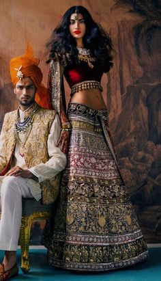 Manish Malhotra #saree #indian wedding #fashion #style #bride #bridal party #brides maids #gorgeous #sexy #vibrant #elegant #blouse #choli #jewelry #bangles #lehenga #desi style #shaadi #designer #outfit #inspired #beautiful #must-have's #india #bollywood #south asain