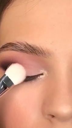 Asian Eye Makeup, Edgy Makeup, Makeup Eye Looks, Eye Makeup Steps, Eye Makeup Art, Natural Eye Makeup, Smokey Eye Makeup, Eyebrow Makeup, Skin Makeup