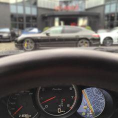 #Verkocht en reeds geleverd. Van een Panamera #Turbo (met 218dkm op de klok) naar 'verse' #Panamera Turbo S (550 pk).