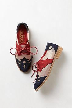 Mesh Elko Oxfords #anthropologie