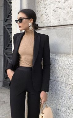 Office Look Blazer Work Outfits Casual Work Outfits, Business Casual Outfits, Mode Outfits, Business Attire, Business Fashion, Classy Outfits, Trendy Outfits, Fashion Outfits, Classy Dress