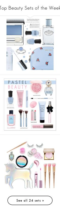 """""""Top Beauty Sets of the Week"""" by polyvore ❤ liked on Polyvore featuring beauty, Miu Miu, Deborah Lippmann, Prada, Clinique, Winky Lux, beautyset, MAC Cosmetics, Sigma and Givenchy"""