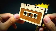 Wooden Necklace, Nyc, Cassette Tape, Gifts, Necklaces, Jewellery, Music, Artist, Design