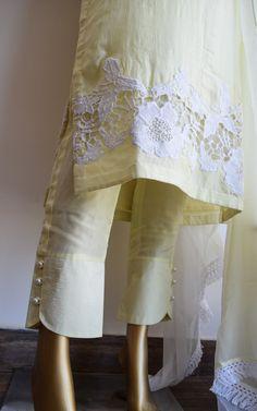 Beautiful Summer Kurta Set by Label Kanupriya Salwar Designs, Kurta Designs Women, Kurti Designs Party Wear, Blouse Designs, Fancy Dress Design, Stylish Dress Designs, Neck Designs For Suits, Sleeves Designs For Dresses, Salwar Pattern