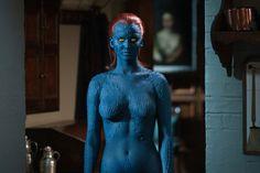 Jennifer Lawrence as Mystique in X-Men: First Class