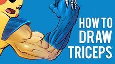 How to Draw Triceps - Arm Anatomy for Artists