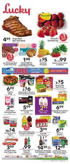 Lucky Weekly Ad July 5 - 11, 2017 - http://www.olcatalog.com/lucky-supermarkets/lucky-weekly-ad.html