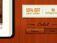 Dribbble - Tea App Website Updates by Mac Tyler