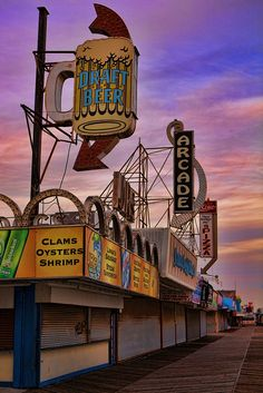 Seaside Heights Boardwalk by dartdood, via Flickr