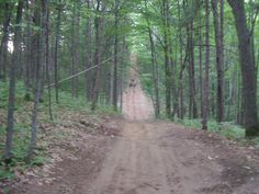 Northern Michigan ATV trail near Black Lake.  Seeing this imagine makes me want to head up north in the summer.