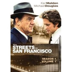 The Streets of San Francisco, old style cop show that i adored. Made Michael Douglas a star.