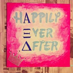 happily ever after - alpha xi delta